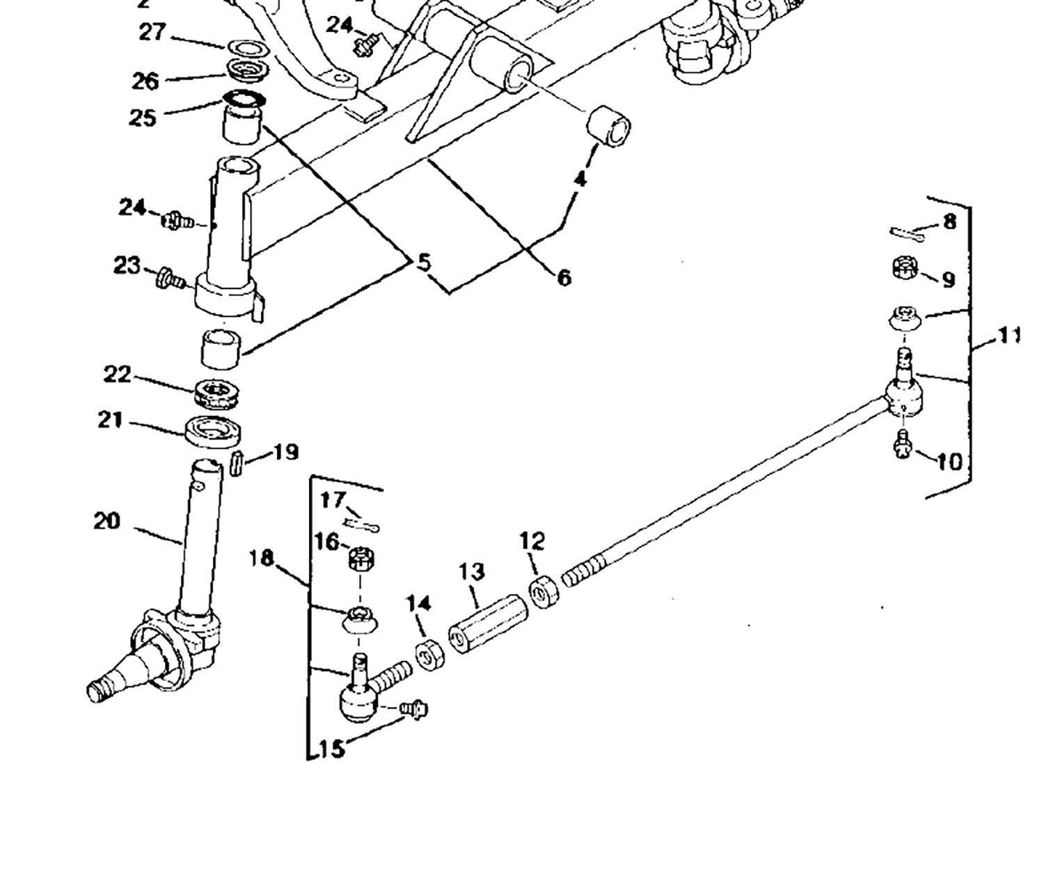John Deere Steering Linkage Diagram