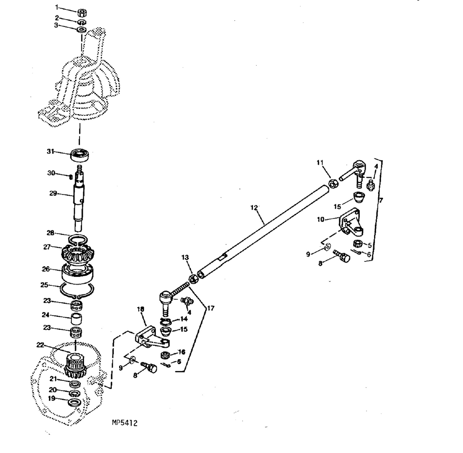 Kubota Fuel Injector Diagram