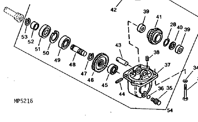 4wd Drop Box Parts For John Deere Compact Tractors