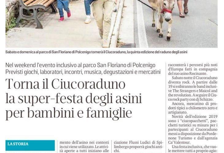 Rassegna stampa: il Ciucoraduno 2019 sui giornali
