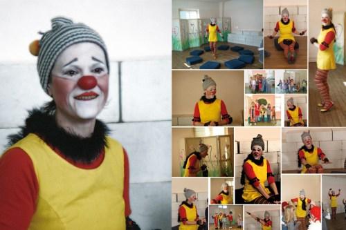Ô Jardin des clowns, par Carlotina du Pompon