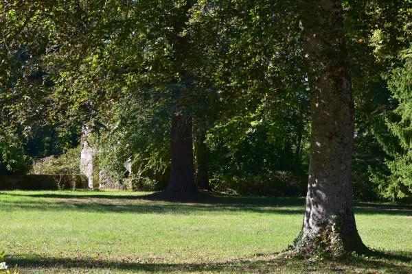 Manoir - vue du parc
