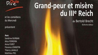 Grand peur et misere du 3eme Reich, de B. Brecht