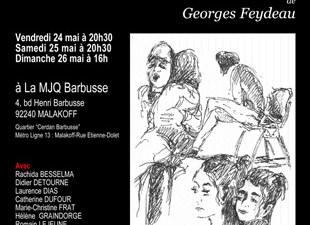 """""""Un fil à la patte"""" de Georges Feydeau"""