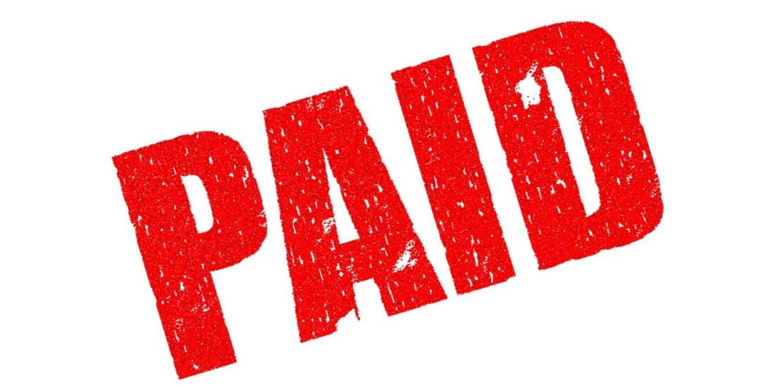 Unpaid company bills in France