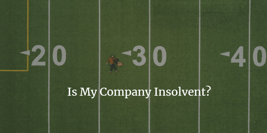 warning signs of limited company insolvency