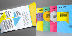 The 174 Coolest Brochure Designs for Creative Inspiration University of the Arts London Brochure