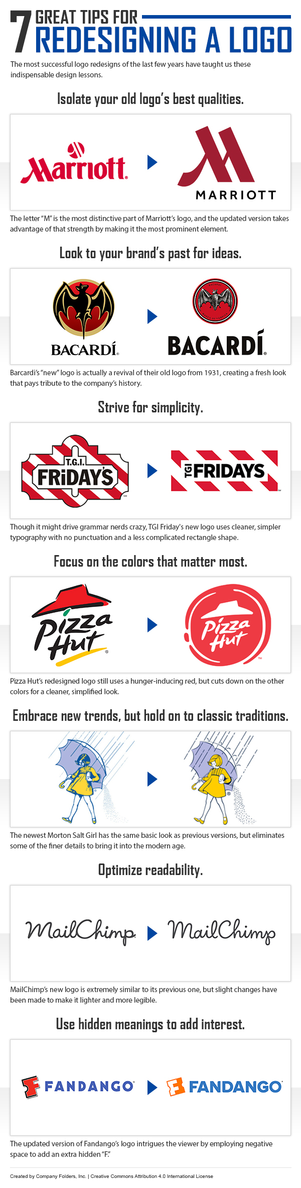 7 Great Tips for a Logo Redesign