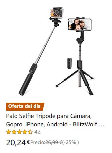 Palo Selfie Trípode para Cámara Gopro