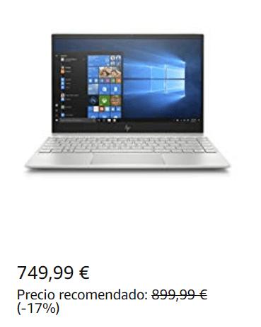Oferta Ordenador Portátil 13.3″ FullHD