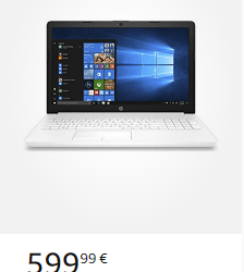 Oferta Hp notebook 15