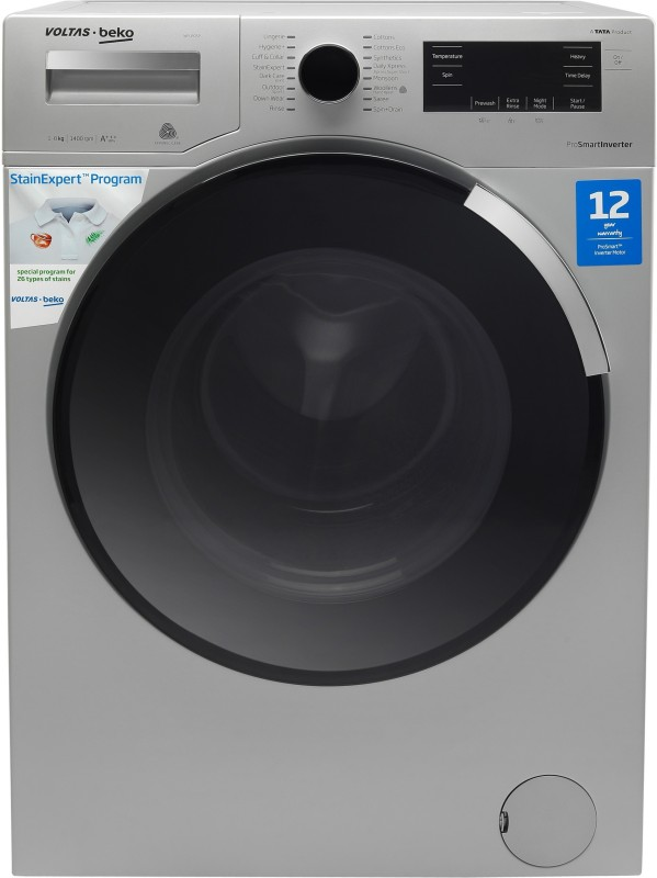 Voltas Beko 8 kg Fully Automatic Front Load with In-built Heater (WFL80SP)