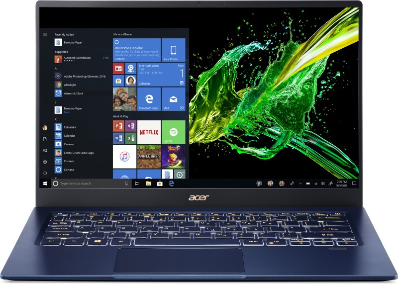 Acer Swift 5 Core i5 10th Gen – (8 GB/512 GB SSD/Windows 10 Home) SF514-54T Thin and Light Laptop