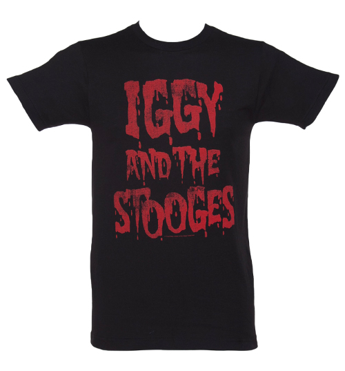 Iggy Shirt Black And Stooges And T White