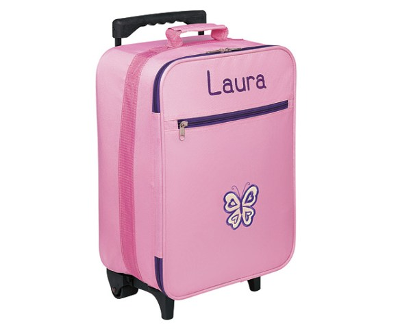 Kids Trolley Suitcases - Pink - Personalised - review ...