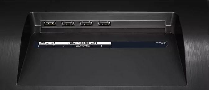 LG CX OLED TV-recension anmeldelse test review portar