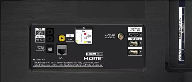 LG CX OLED TV-recension anmeldelse test review portar 2