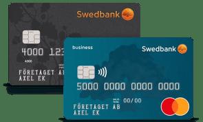 swedbank kort