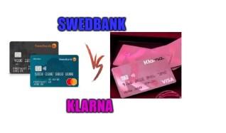 Swedbank kreditkort jämförelse