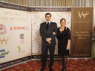 "Firenze, 01.12.2012 – ""Best Franchisee of the World 2012″ – Dott.Rag.Mirco Comparini e Rag.M.Rosaria Russo"