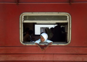 Photo: Midday Train to Colombo by Sarah Crake (COMPAS Photo Competition 2012)