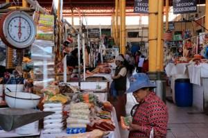 Peruvian food market
