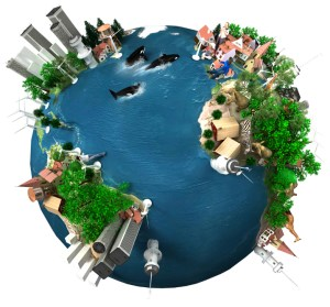 "Earth ""Global Village"""