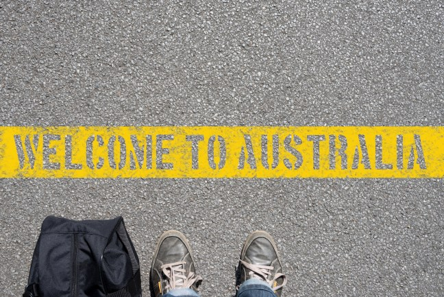 Welcome to Australia image