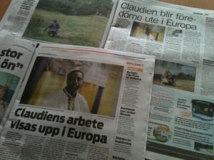 Local newspaper report about EU-MIA case study of DBF.