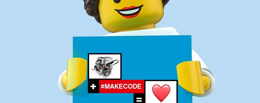 Sparking creativity with LEGO® MINDSTORMS® Education EV3 and Microsoft MakeCode