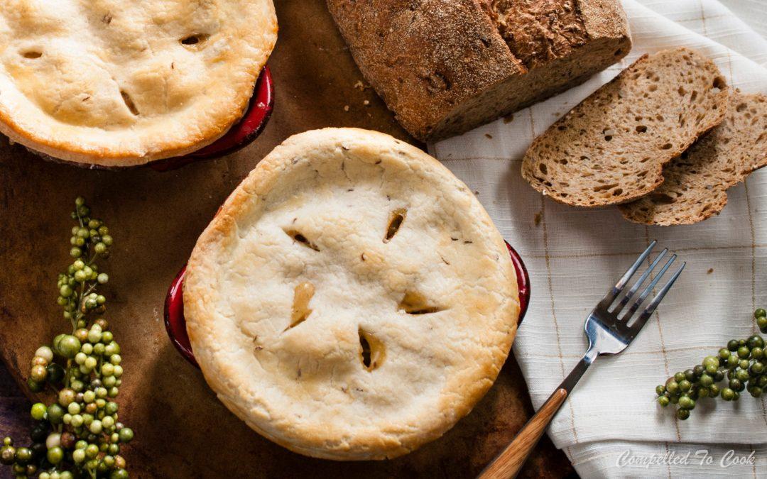 Caraway Crusted Pork Pot Pie