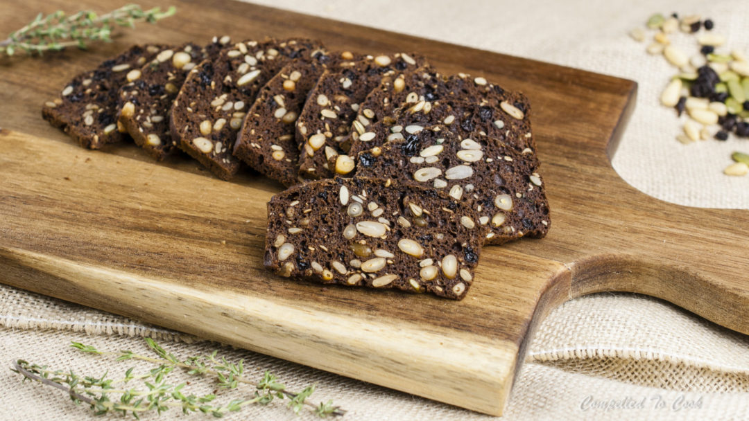 Pumpernickel Seed & Nut Crisps