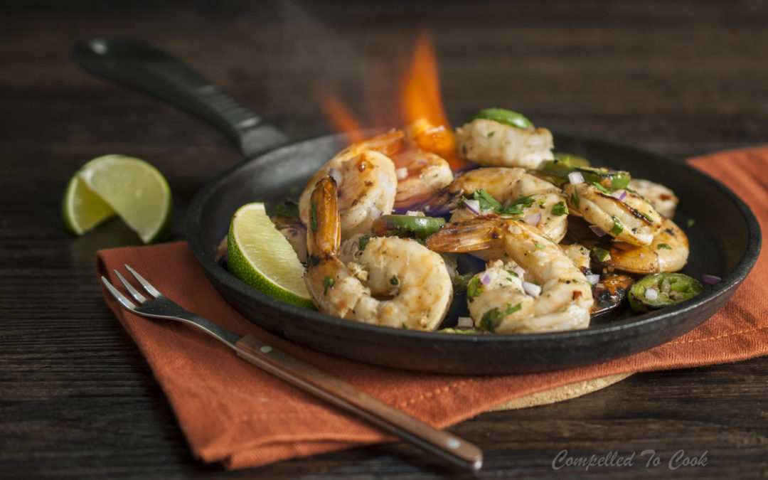 Spicy Grilled Vodka Shrimp