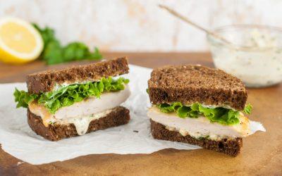 Chicken Piccata Sandwich