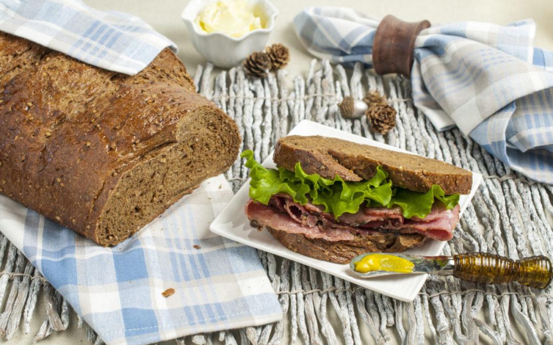 Multigrain Pumpernickel Rye Bread