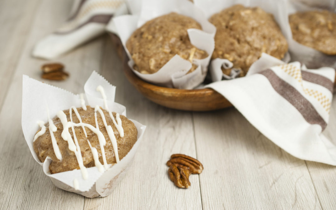 Parsnip Spice Muffins are moist, tender a gloriously spiced.