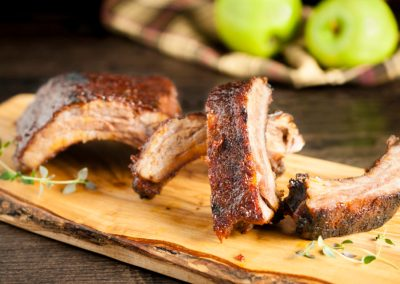 Smoky Apple Ribs