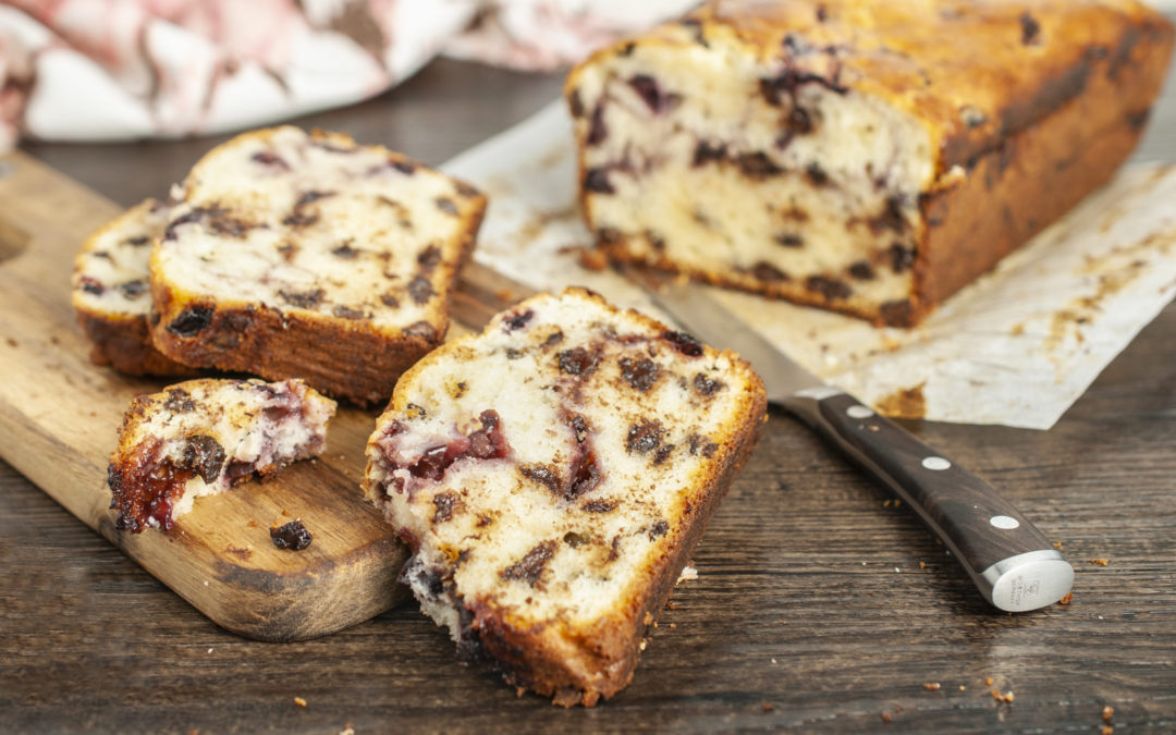 Chocolate Cherry Loaf