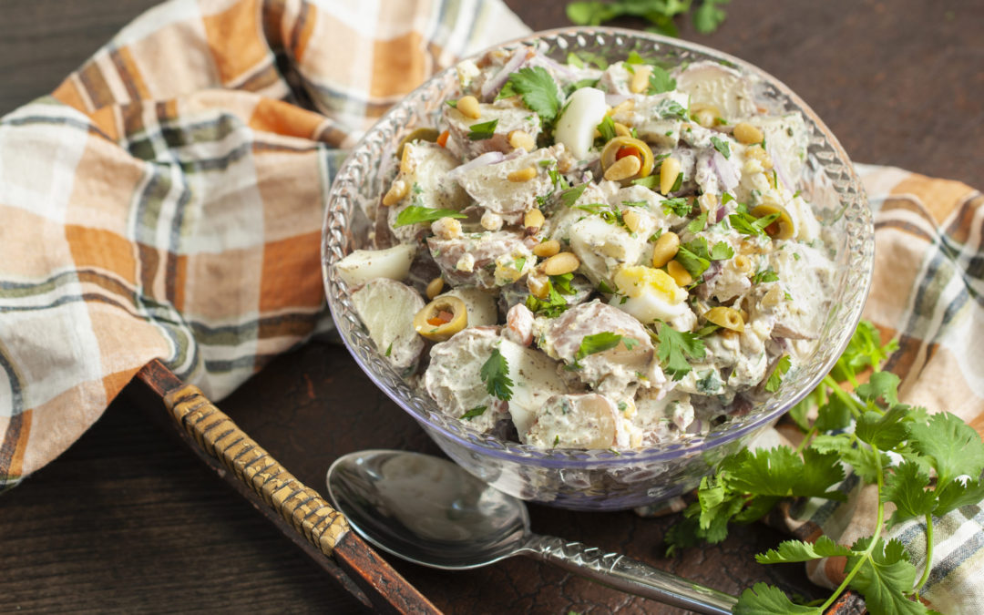 Zahtar Potato Salad