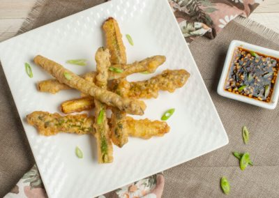Tempura Asparagus with Soy Dipping Sauce