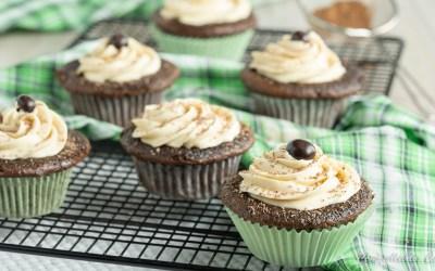 Irish Cream Cupcakes