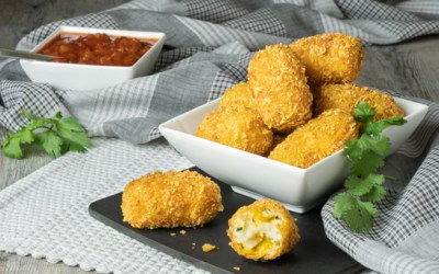 Mexican Jalapeño Cheddar Croquettes