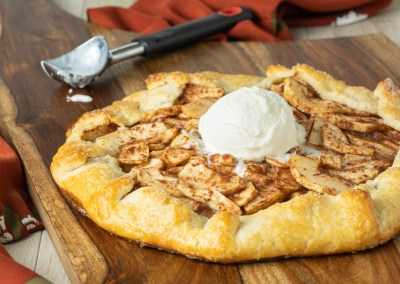 Apple Galette with Almond Pastry
