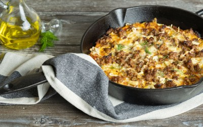 Sausage and Fennel Cast-Iron Pizza