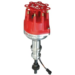 MSD Ignition, ProBillet Small Diameter Distributor, w Mechanical Advance, Ford 289302, Small