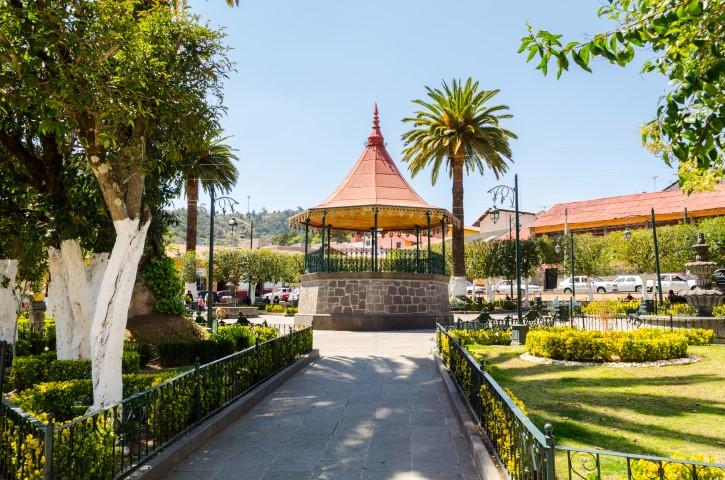 Plaza Principal de Tlalpujahua