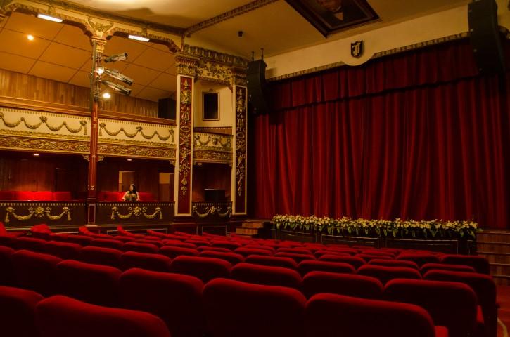 Teatro Juárez, El Oro.