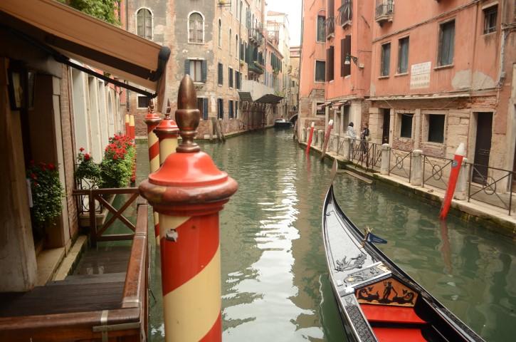 Canales en Venecia.