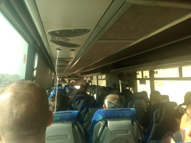 Bus Egged de Jerusalen a Eilat.