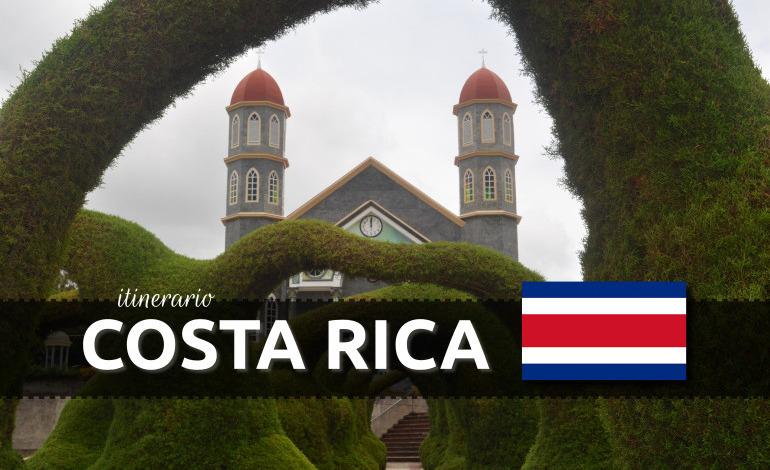 Itinerario de Costa Rica